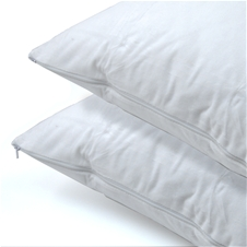 2 Pack Cotton Pillow Protectors