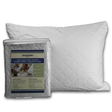 Triple Cotton Pillow Protectors