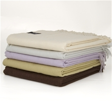 Cashmere/Wool Throws