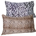 Animal Print Satin Pillow Protectors