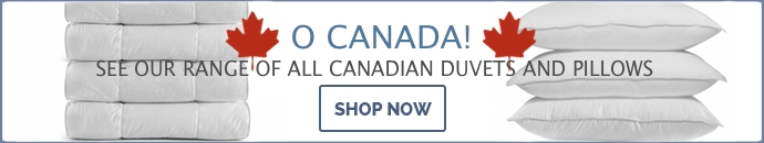 See our range of All Canadian duvets and Pillows