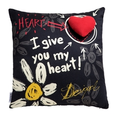 Give Heart Cushion