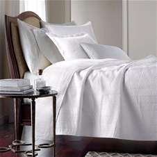 Avery White Coverlet