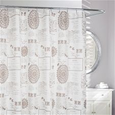 Script Shower Curtain