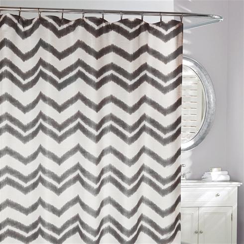 Chevron Shower Curtain Daniadown Bed Bath Home