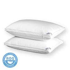 FIRM Royal White Goose Down Pillow