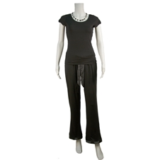 Black Bamboo Pajamas