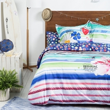 Blue Summer Bedding