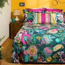 Paisley Bloom Bedding