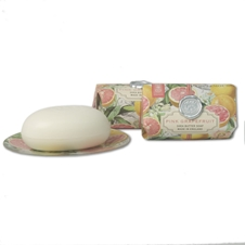 Pink Grapefruit Soap or Dish