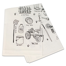 Around the Farm Tea Towels