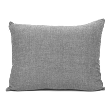 Grey Chambray Cushions