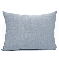 Navy Chambray Cushions