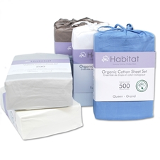 500 TC Organic Cotton Sheet Sets