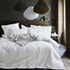 Star White Linen Bedding