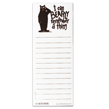 Bearly Remember Magnetic List