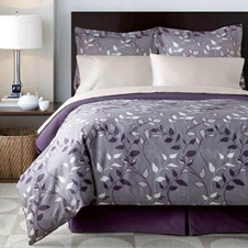 Avery Purple Comforter Set