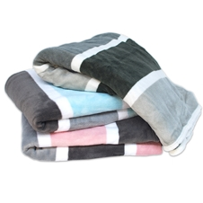 Stripe Plush Throws