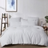 Chaucer White Duvet Cover Set