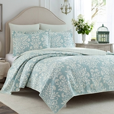 Rome Cotton Coverlet Set