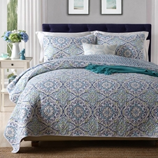Tile Cotton Coverlet Set