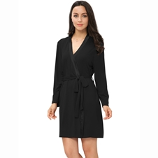 Black Bamboo Robe