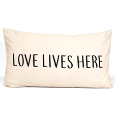 Love Lives Here Cushion