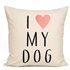 I Love My Dog Cushion