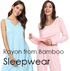 Rayon from Bamboo Sleepwear
