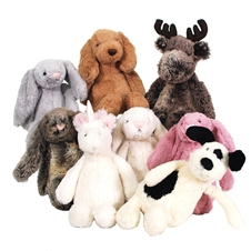 Loveable Animal Stuffies