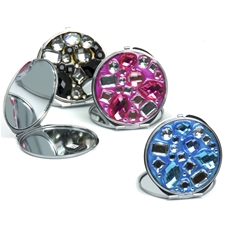 Mini Gem Compact Mirror