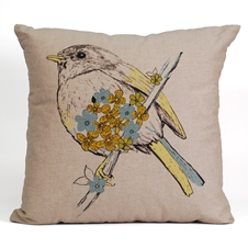 Bird Sketch Cushion