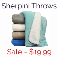 Sherpini Throw Blanket Sale - $19.99
