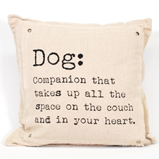 Dog Quote Cushion
