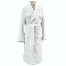 Turkish White Bathrobe