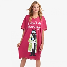 I don't do mornings Sleepshirt