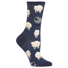 Black Sheep Denim Socks (women's)