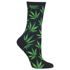 Marijuana Socks Black (Men's)