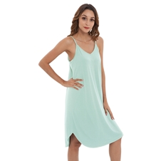 Mist Bamboo Spaghetti Dress Sleepwear