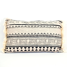 Blue Indian Art Cushion
