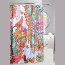 Art Journal Shower Curtain