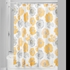 Large Yellow Poppy Shower Curtain