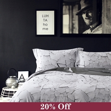 Alabaster Duvet Cover Set