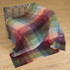 Irish Mohair Wool Throw (502)
