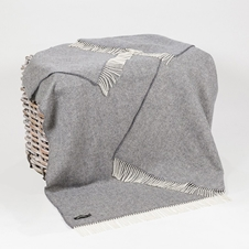 Irish Merino Cashmere Wool Throw (1474)