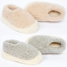 100% Wool Slippers by Yoko Wool