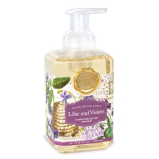 Lilac and Violets Cotton Foaming Hand Soap