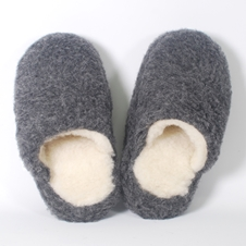 Basic - 100% Wool Slippers by Yoko Wool